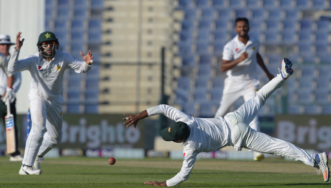 An intriguing Test match unfolding at Abu Dhabi.