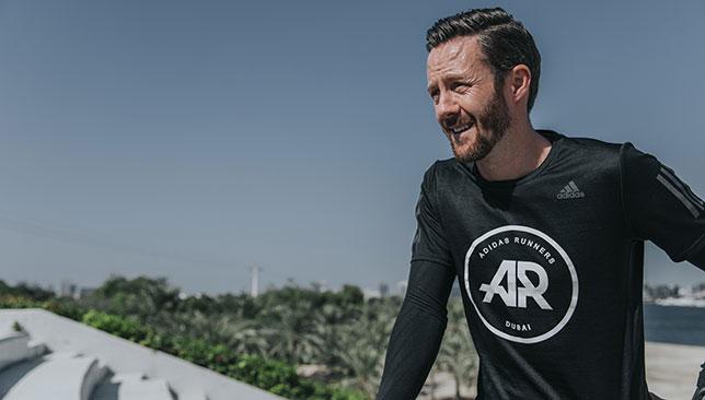 Lee Ryan is the captain of adidas Runners Dubai.