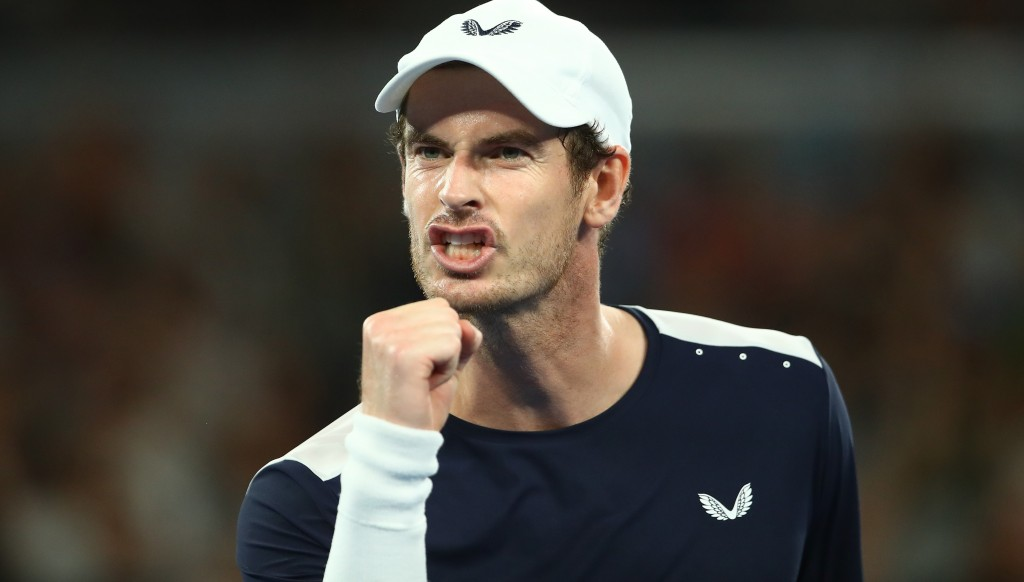 Murray showed typical fight to come back from 2-0 down before eventually losing 3-2.
