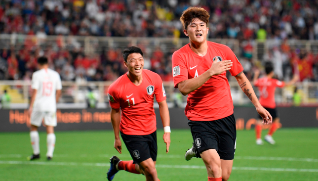 Image result for kim min-jae football