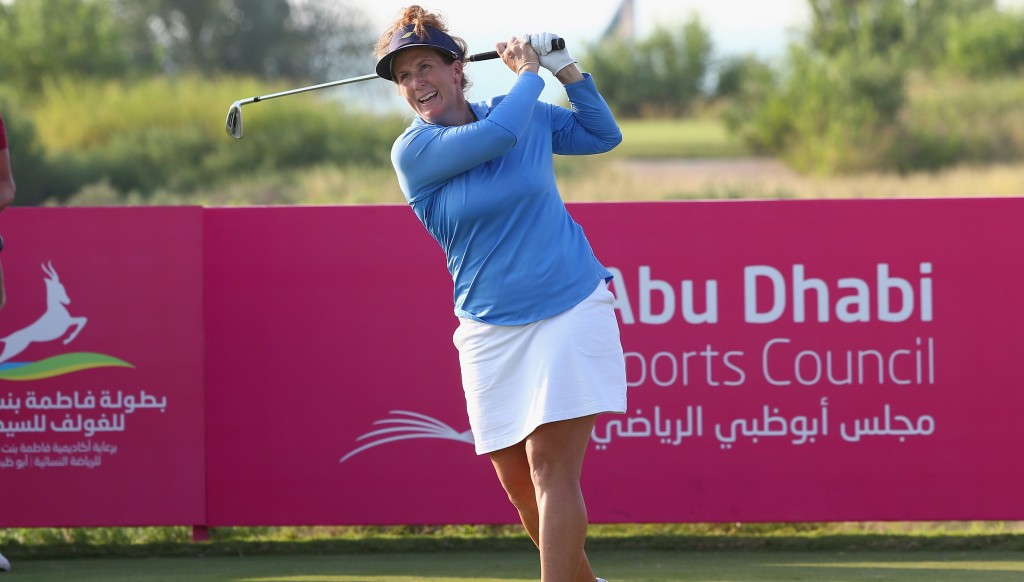 Beth Allen won in Abu Dhabi in 2016.