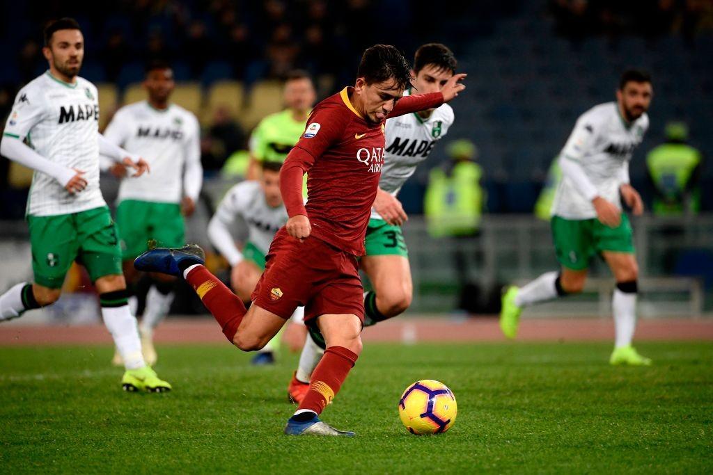 AS Roma Turkish forward Cengiz Under