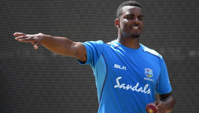 Gabriel is the leader of Windies' bowling attack.
