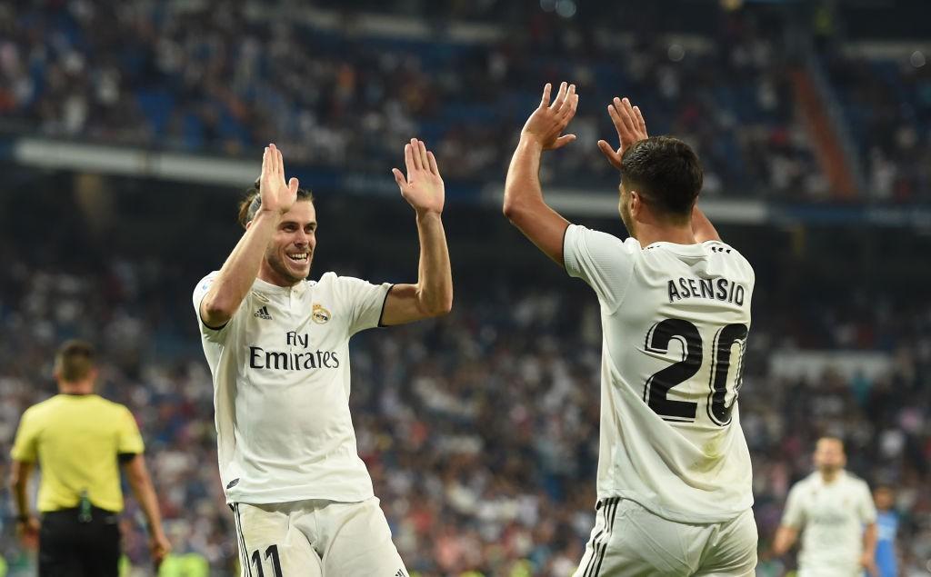 Gareth Bale and Marco Asensio