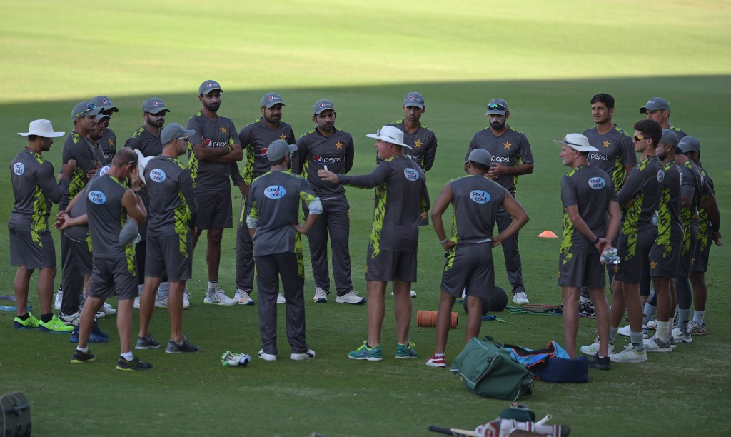 Not a happy Pakistan team camp at the moment.