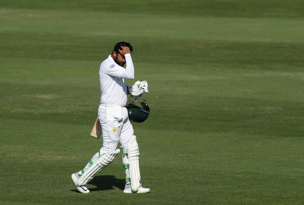 Azhar Ali disappointed at Centurion.