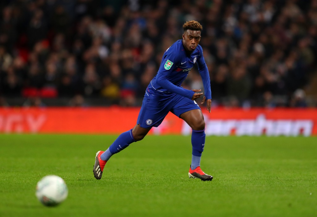Sarri says Hudson-Odoi has been unaffected by the speculation.