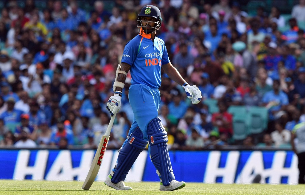 A series to forget for Dhawan.