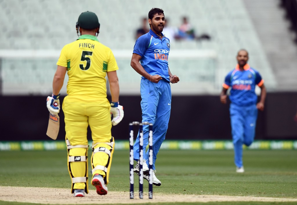 Bhuvneshwar was the pick of the bowlers in the series.