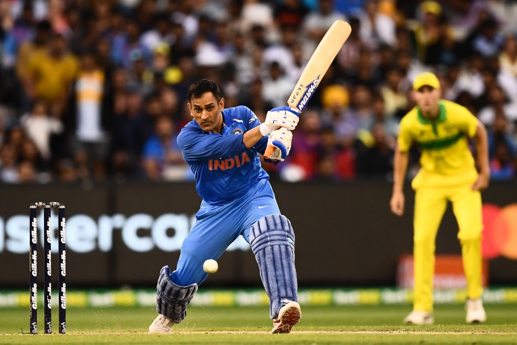 Dhoni averaged a whopping 193 with the bat.