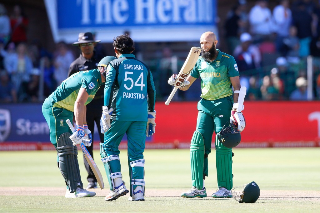 A 27th ton in the format for Hashim Amla.