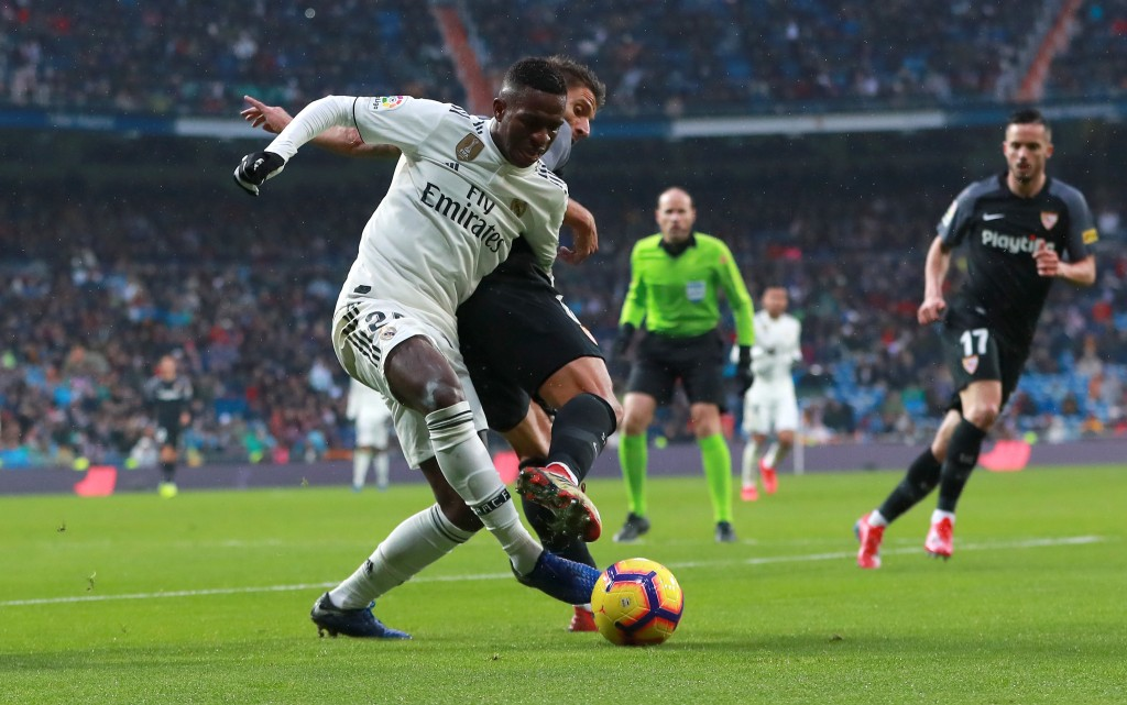 A frustrating display from Vinicius Jr.