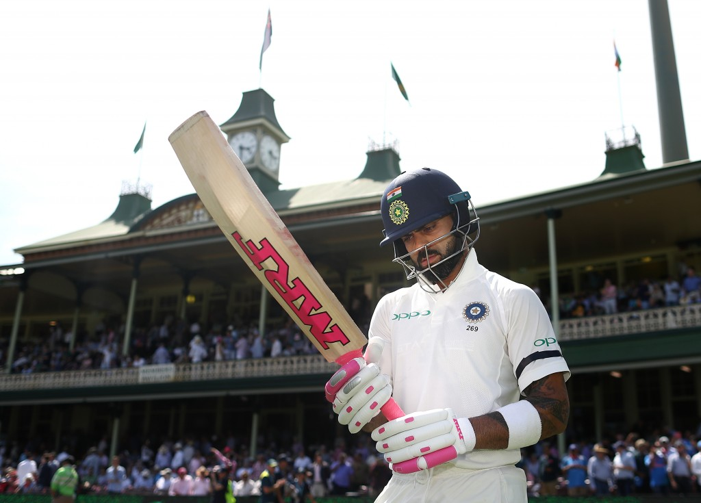 Kohli was booed while walking out to bat on day one.