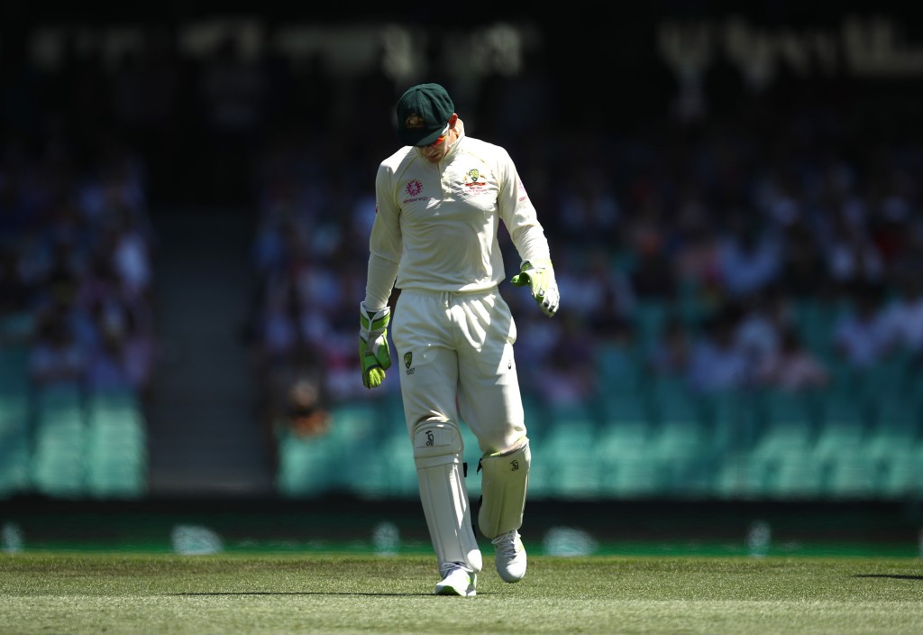 Tim Paine and Australia have run out of time.