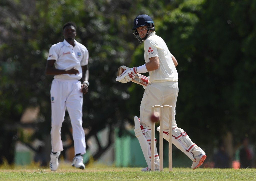 Joe Root top-scored for England with an 87-run knock.
