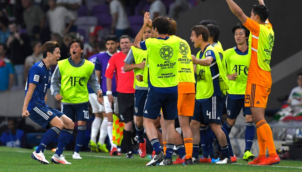 Japan reached the final thanks to a flattering 3-0 win over Iran.