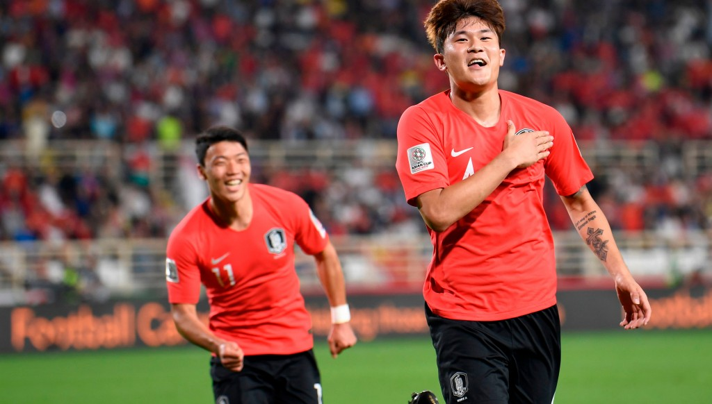 Kim Min-jae scored South Korea's second.