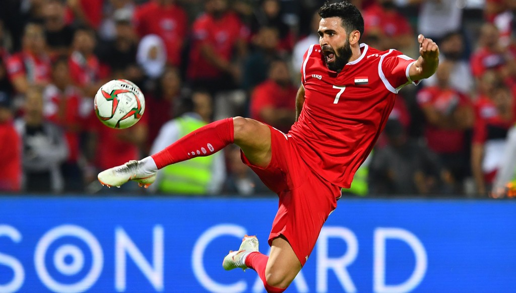 Omar Khrbin is a bright talent for Syria and is well known to UAE football fans.