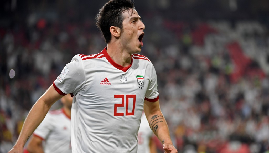 Sardar Azmoun leads an exciting new generation of Iran players.
