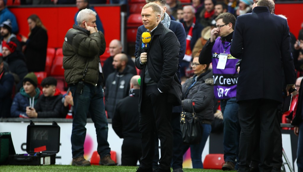 Scholes has worked extensively as a pundit since retiring.