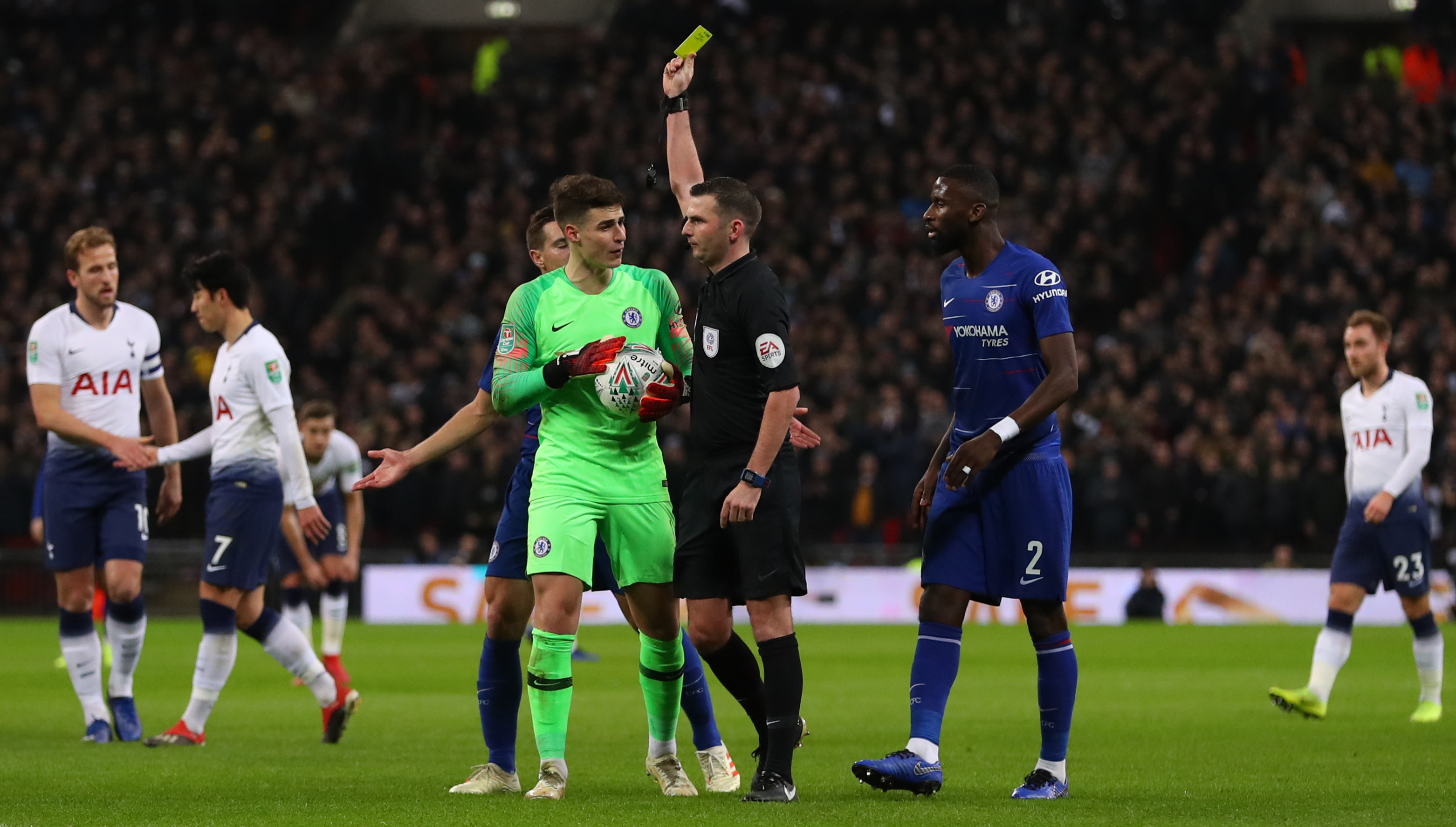 Chelsea And Spurs Bosses Maurizio Sarri And Mauricio Pochettino Unanimously Critical Of Var Sport360 News