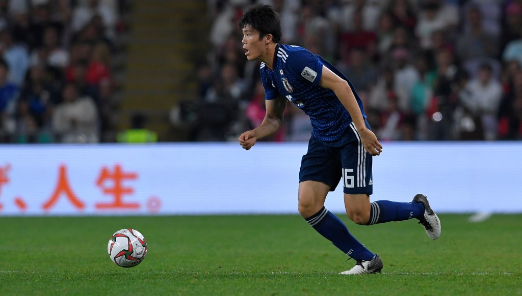 Takehiro Tomiyasu has been excellent for Japan, belying his tender years.