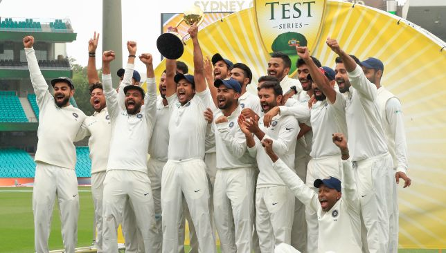 India won their maiden Test series on Australian soil.