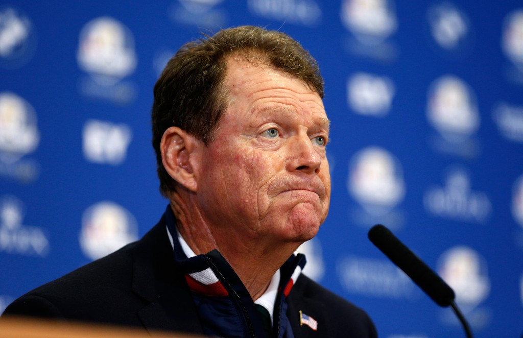 Tom Watson's USA Ryder Cup captaincy was a disaster in 2014.