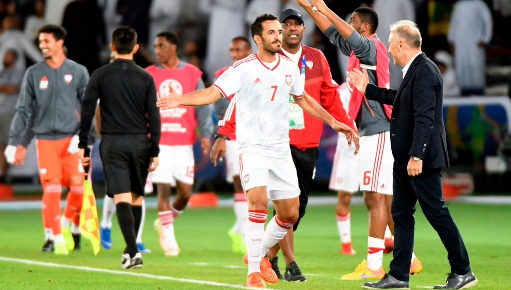 Ali Mabkhout scored an assisted for the UAE.