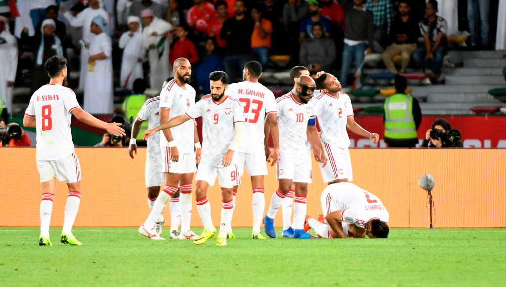 The UAE reached the semi-finals of January's Asian Cup on home soil.
