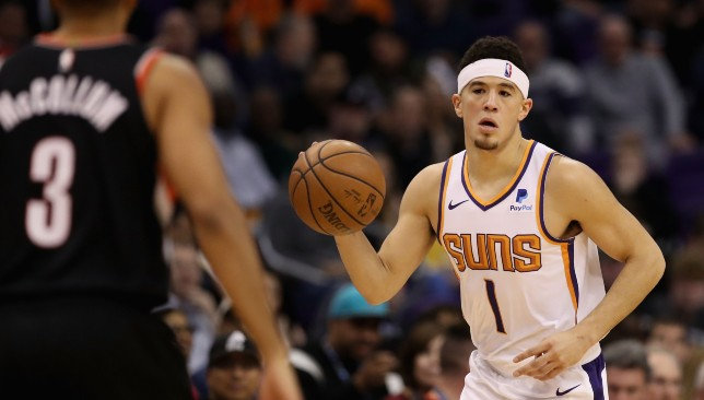 Booker's 27 points were not enough to prevent a loss for the Suns,