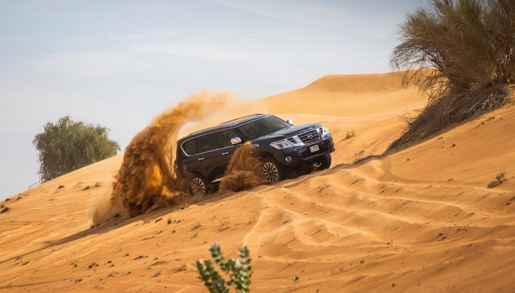 Off-road: Power, luxury and versatility