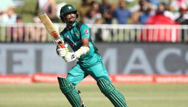 Hasan Ali struck his second ODI half-century.