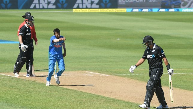 New Zealand looked poor against the wrist-spinners in Napier.