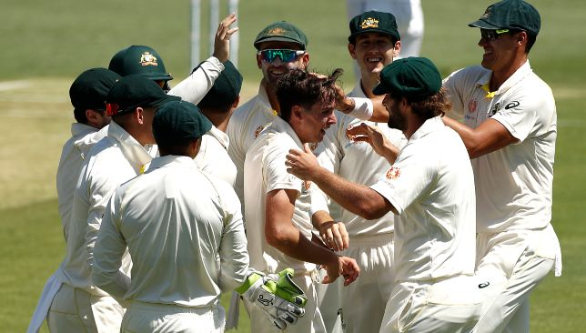 A Test debut to remember for Richardson.