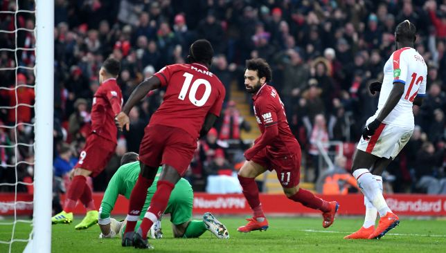 Salah proved decisive once again.