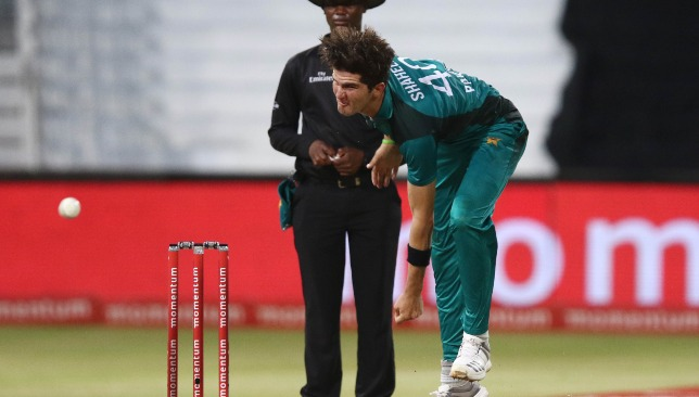 Young Afridi was sensational in his opening spell.