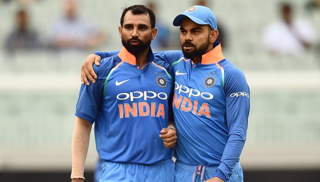 Shami's good form has come just at the right time for Kohli.