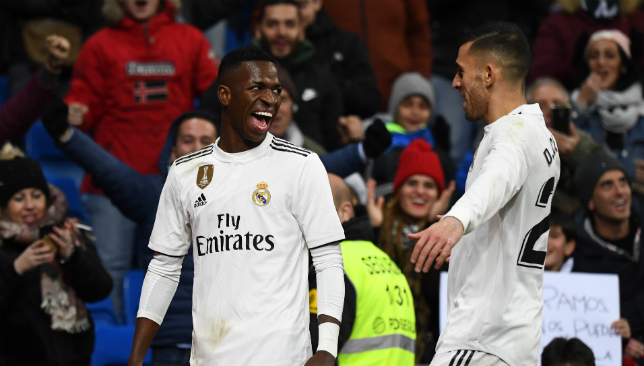 Vinicius Junior was a bright Real Madrid object