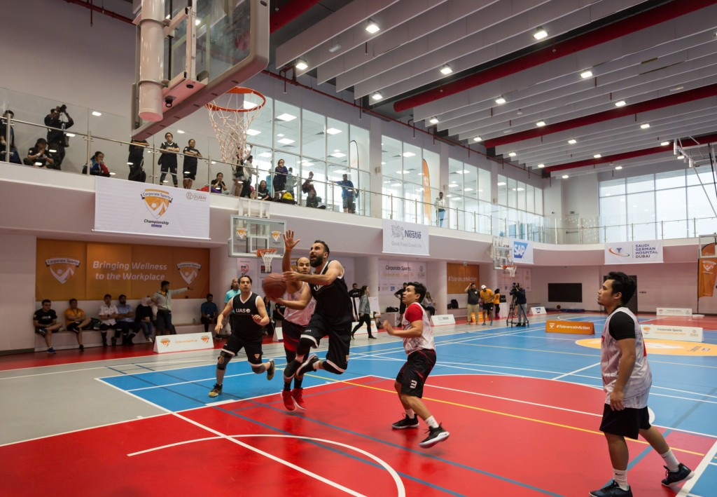 Basketball final: Action from the 2019 event