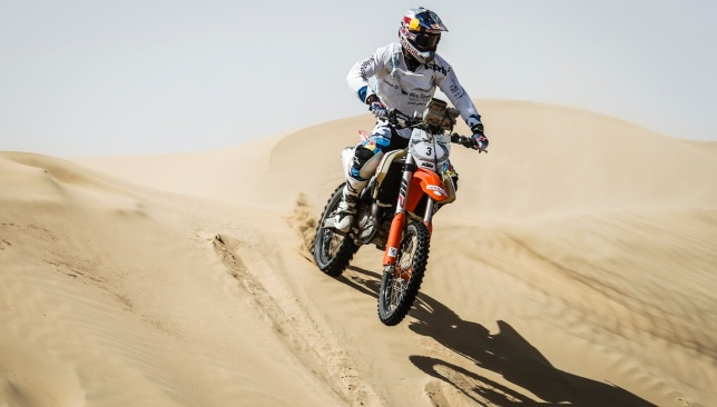 Mohammed Al Balooshi is the reigning bikes and quads world champion and won in Dubai last year.