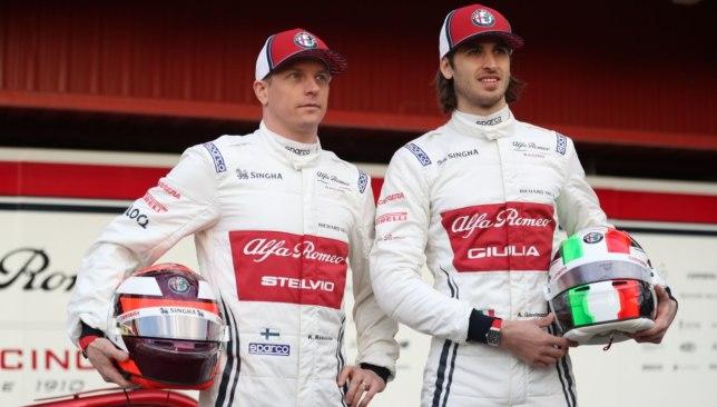 Kimi Raikkonen joins