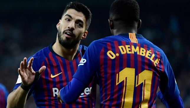 7eee37d446a Real Madrid 0-3 Barcelona  Player ratings as Luis Suarez and Ousmane Dembele  stand out