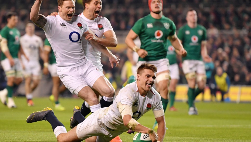 England cruised to victory in Dublin.