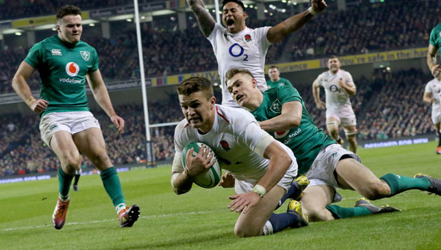 England were hugely impressive in victory against Ireland last weekend.