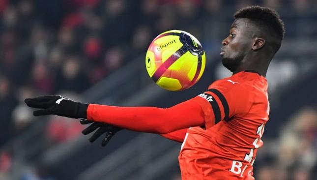 Rennes forward M'baye Niang