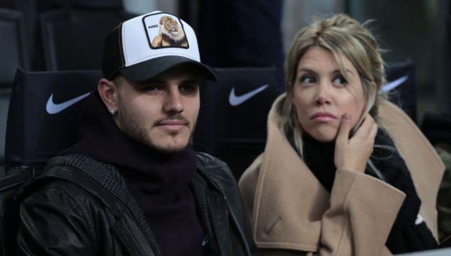 Mauro Icardi and his wife Wanda Nara
