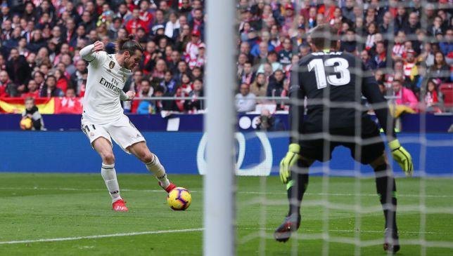 Gareth Bale scores against Atletico Madrid
