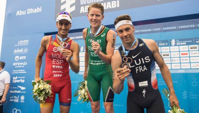 South Africa's henri Schoeman won in Abu Dhabi last year.