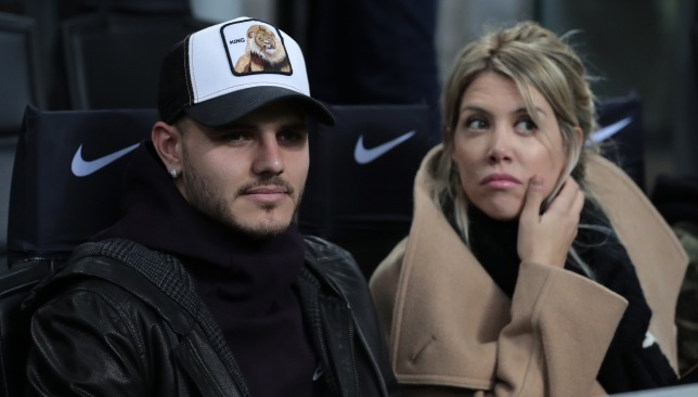 It's unlikely that Mauro Icardi will be wearing an Inter shirt next season